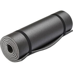 CAMPZ Mata do spania Podwójna warstwa 180x50cm, czarny/szary
